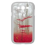 Magic forest in red and white Samsung Galaxy Grand DUOS I9082 Case (White) Front