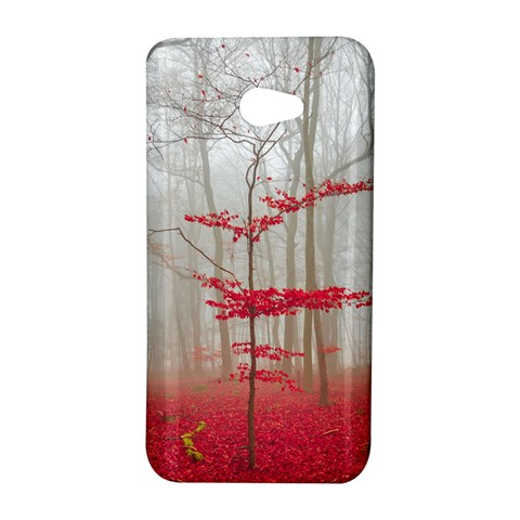 Magic forest in red and white HTC Butterfly S/HTC 9060 Hardshell Case