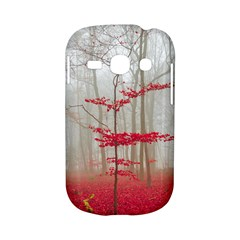 Magic forest in red and white Samsung Galaxy S6810 Hardshell Case