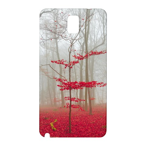Magic forest in red and white Samsung Galaxy Note 3 N9005 Hardshell Back Case