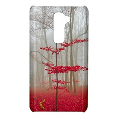 Magic forest in red and white LG G2