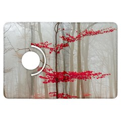 Magic forest in red and white Kindle Fire HDX Flip 360 Case