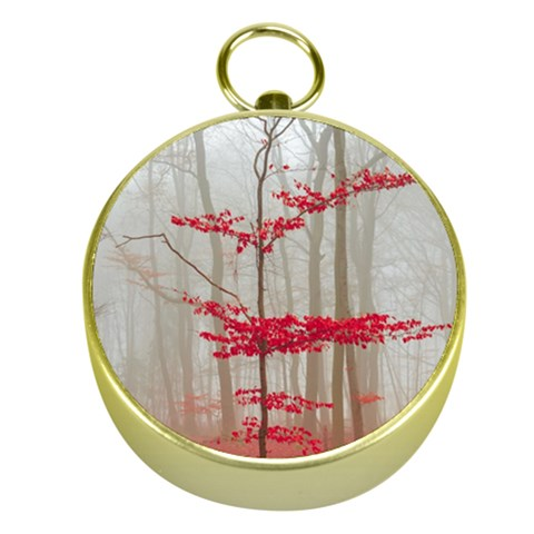 Magic forest in red and white Gold Compasses
