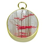 Magic forest in red and white Gold Compasses Front