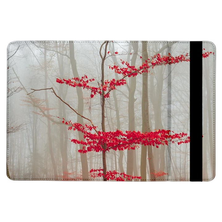 Magic forest in red and white iPad Air Flip