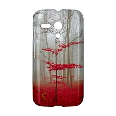 Magic forest in red and white Motorola Moto G