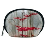 Magic forest in red and white Accessory Pouches (Medium)  Front