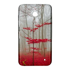 Magic forest in red and white Nokia Lumia 630