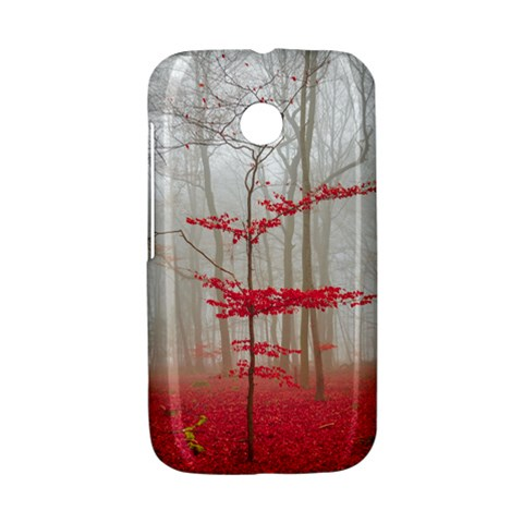Magic forest in red and white Motorola Moto E