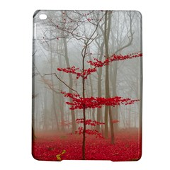 Magic forest in red and white iPad Air 2 Hardshell Cases