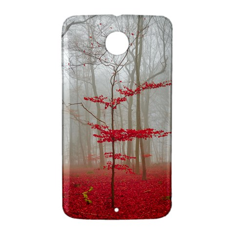Magic forest in red and white Nexus 6 Case (White)