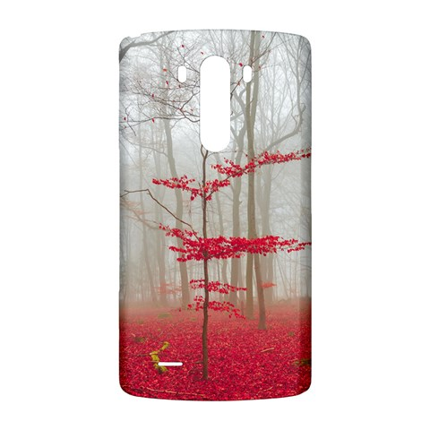 Magic forest in red and white LG G3 Back Case
