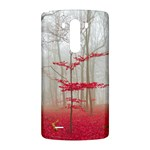 Magic forest in red and white LG G3 Back Case Front
