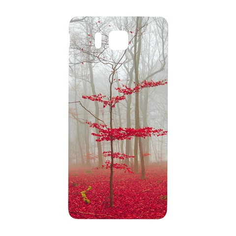Magic forest in red and white Samsung Galaxy Alpha Hardshell Back Case