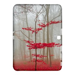 Magic Forest In Red And White Samsung Galaxy Tab 4 (10 1 ) Hardshell Case