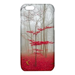 Magic forest in red and white iPhone 6/6S TPU Case