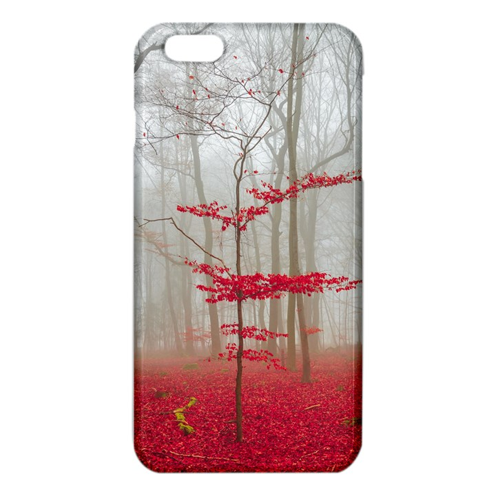 Magic forest in red and white iPhone 6 Plus/6S Plus TPU Case