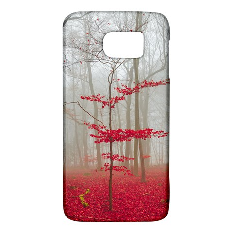 Magic forest in red and white Galaxy S6