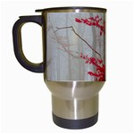Magic Forest In Red And White Travel Mugs (White) Left