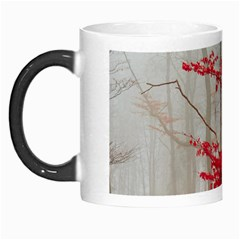 Magic Forest In Red And White Morph Mugs