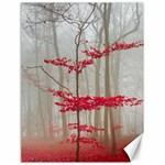 Magic Forest In Red And White Canvas 18  x 24   24 x18 Canvas - 1