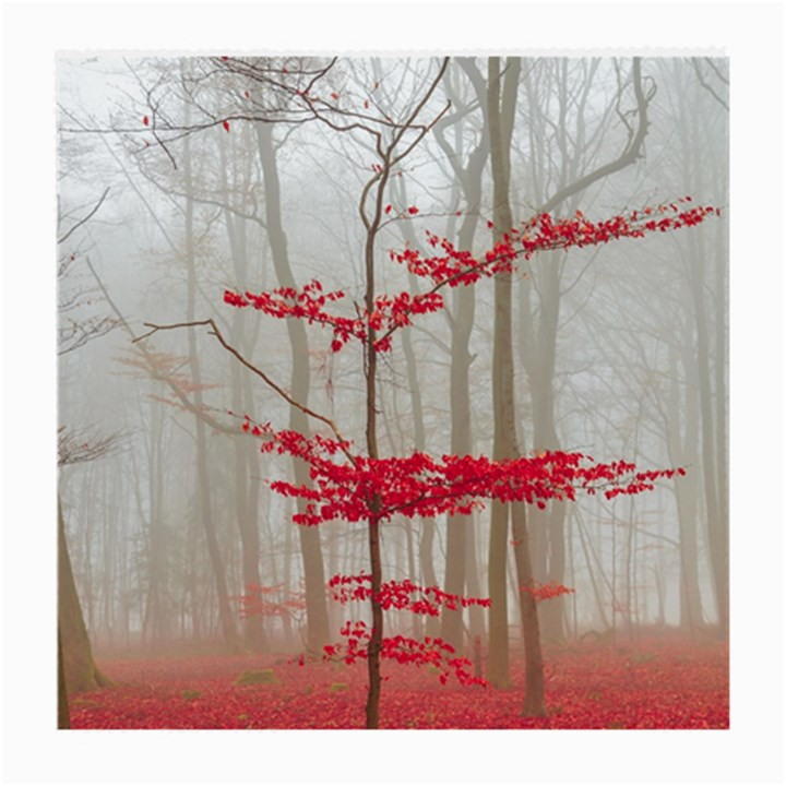 Magic Forest In Red And White Medium Glasses Cloth (2-Side)