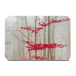 Magic Forest In Red And White Plate Mats 18 x12 Plate Mat - 1