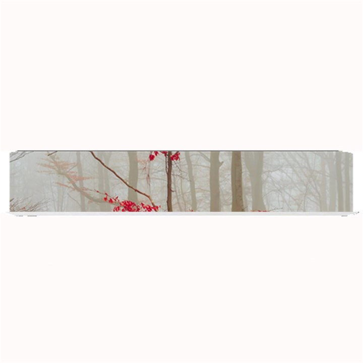 Magic Forest In Red And White Small Bar Mats