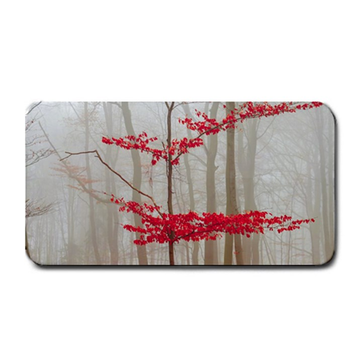 Magic Forest In Red And White Medium Bar Mats