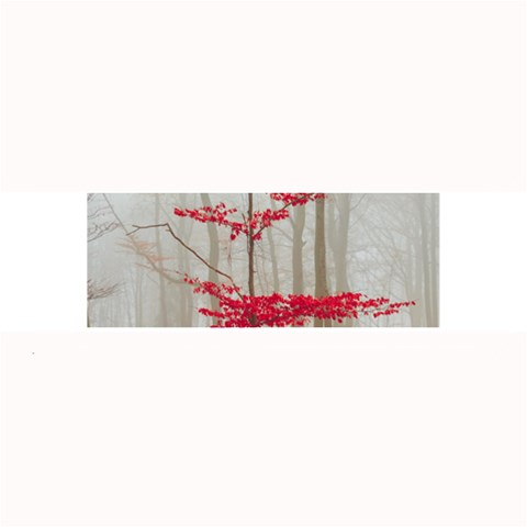 Magic Forest In Red And White Large Bar Mats