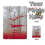 Magic Forest In Red And White Multi-purpose Cards (Rectangle)  Back 4