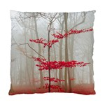 Magic Forest In Red And White Standard Cushion Case (One Side) Front