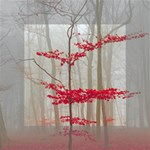 Magic Forest In Red And White Mini Canvas 4  x 4  4  x 4  x 0.875  Stretched Canvas