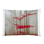 Magic Forest In Red And White Pillow Case 26.62 x18.9 Pillow Case