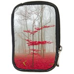 Magic Forest In Red And White Compact Camera Cases Front