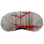 Magic Forest In Red And White Sleeping Masks Front
