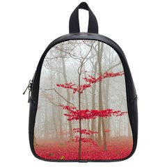 Magic Forest In Red And White School Bags (Small)