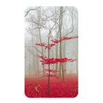 Magic Forest In Red And White Memory Card Reader Front