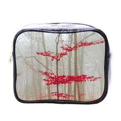Magic Forest In Red And White Mini Toiletries Bags