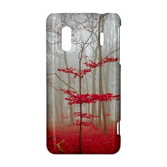 Magic Forest In Red And White HTC Evo Design 4G/ Hero S Hardshell Case