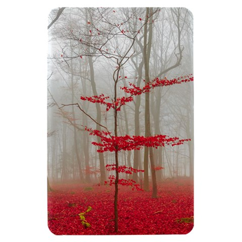 Magic Forest In Red And White Kindle Fire (1st Gen) Hardshell Case