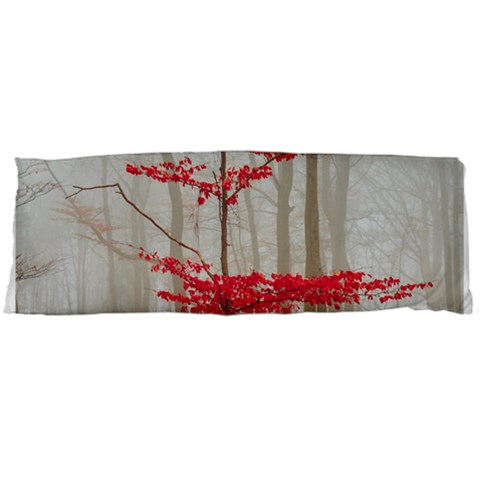 Magic Forest In Red And White Body Pillow Case (Dakimakura)