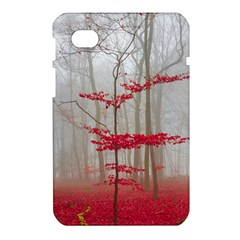 Magic Forest In Red And White Samsung Galaxy Tab 7  P1000 Hardshell Case