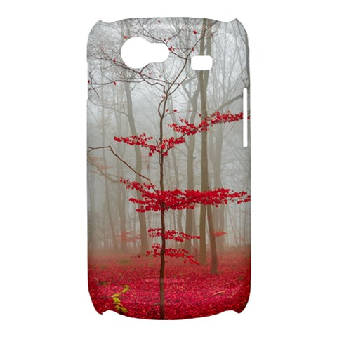 Magic Forest In Red And White Samsung Galaxy Nexus S i9020 Hardshell Case