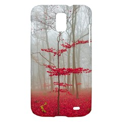 Magic Forest In Red And White Samsung Galaxy S II Skyrocket Hardshell Case