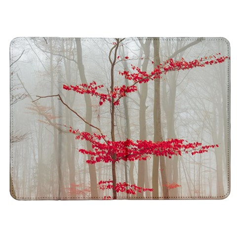 Magic Forest In Red And White Kindle Fire (1st Gen) Flip Case