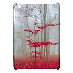 Magic Forest In Red And White Apple Ipad Mini Hardshell Case