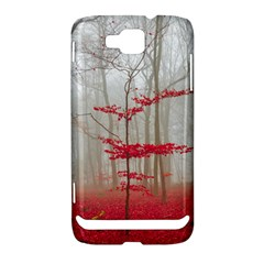 Magic Forest In Red And White Samsung Ativ S i8750 Hardshell Case