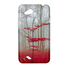 Magic Forest In Red And White HTC Desire VC (T328D) Hardshell Case