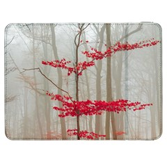 Magic Forest In Red And White Samsung Galaxy Tab 7  P1000 Flip Case
